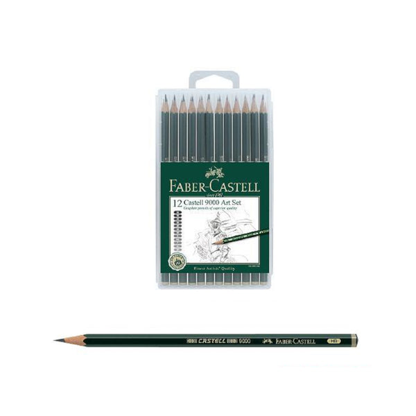 Faber Castell 9000 Drawing Sketching Art Set | 8B-2H