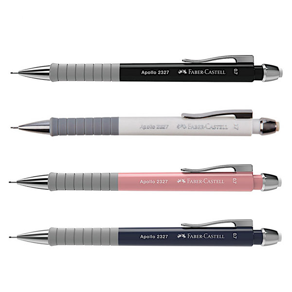 Faber Castell Apollo Mechanical Pencil | Triangular Grip 0.7mm
