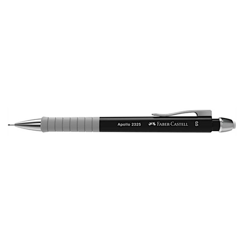 Faber Castell Apollo Mechanical Pencil | Triangular Grip - 0.5mm - Black