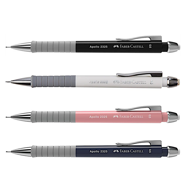 Faber Castell Apollo Mechanical Pencil | Triangular Grip - 0.5mm