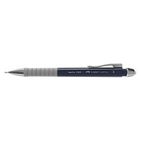 Faber Castell Apollo Mechanical Pencil | Triangular Grip - 0.5mm - Navy Blue