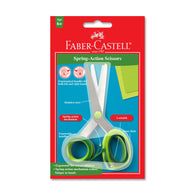 Faber Castell Lockable Scissors with Ergonomic Handles