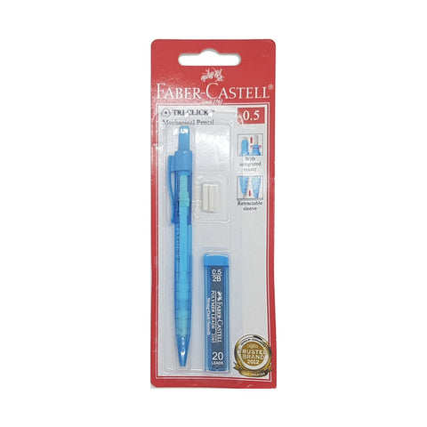 Faber Castell Tri-Click Mechanical Pencil 0.5 with lead