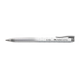 Faber Castell K-One Retractable Gel Pen - Black