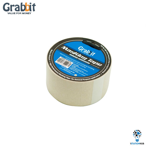 Grabbit Masking Tape | 48mm x 12 yards