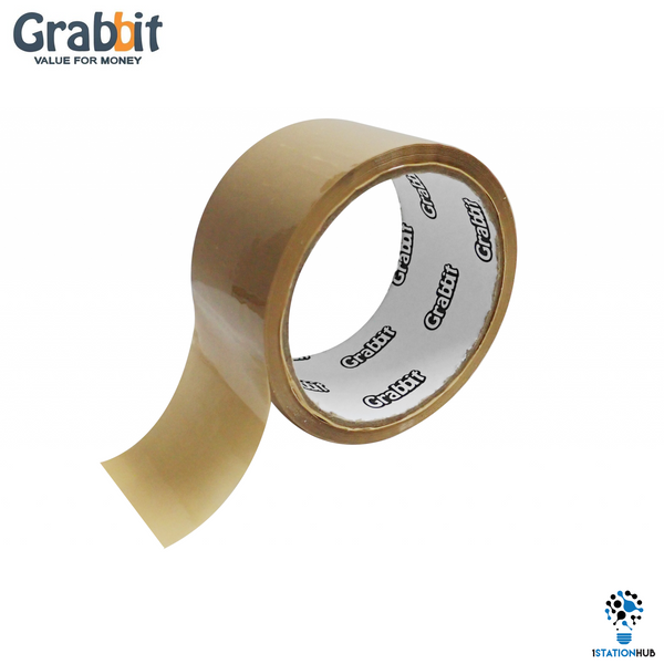 Grabbit OPP High Performance Brown Tape 48mm/40yards