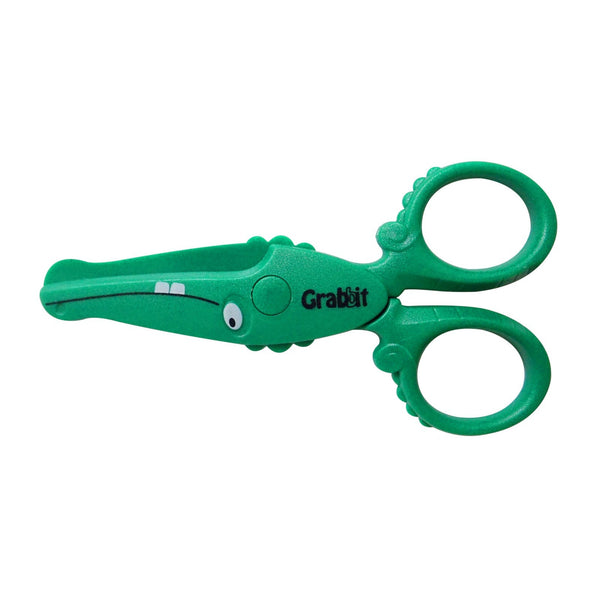 Grabbit 12cm Children Safety Scissors | Crocodile