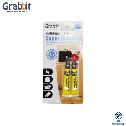 Grabbit Multi-Purpose Glue | 7ml x2