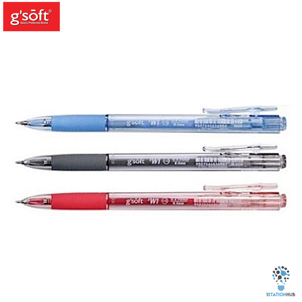 G'Soft W1 Retractable Ball Pen | 0.5mm