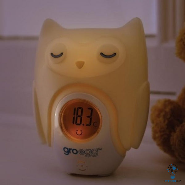 The Gro Egg Shell Room Thermometer Shell | Orla The Owl