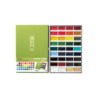 Zig Kuretake Gansai Tambi Watercolour | 36 Colour Set
