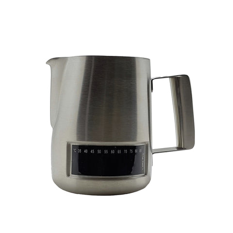 LATTE PRO Milk Frothing Pitcher | Thermometer Stainless Steel | 480ml