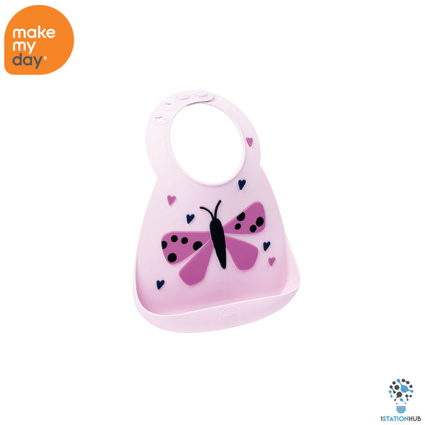 Make My Day Baby Bib | Butterfly