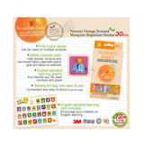 Simba Noisefree Diary ABC | 30pcs Natural Orange Scented Mosquito Repellent Sticker | 2 Pack
