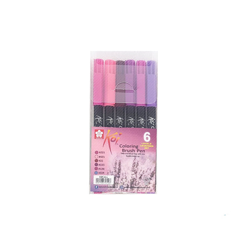 Sakura Koi Colouring Brush Pen | Lovely Lavender Set