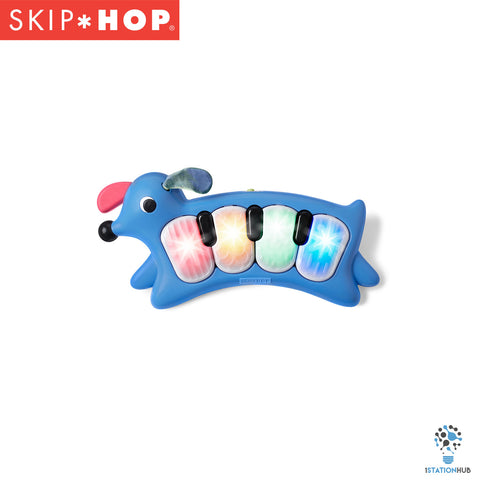 Skip Hop Vibrant Village Light-Up Musical Dog Piano