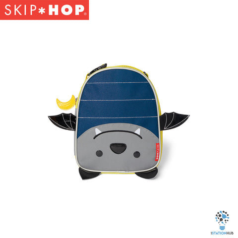 Skip Hop Zoo Lunchie Insulated Lunch Bag | Bat