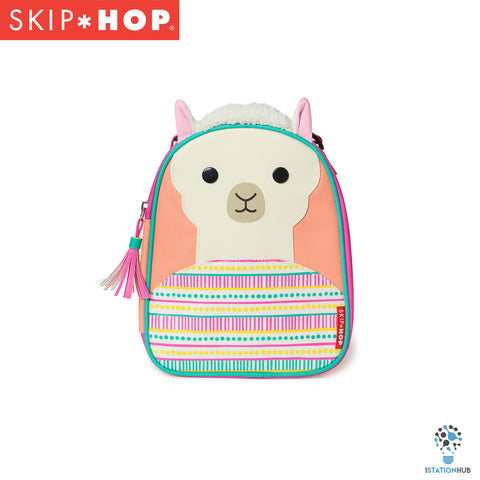 Skip Hop Zoo Lunchie Insulated Lunch Bag | Llama