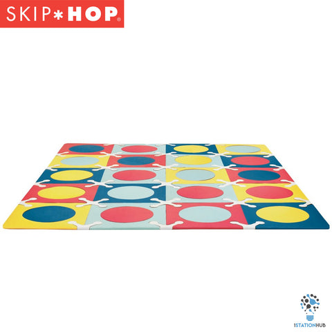 Skip Hop Playspot Foam Floor Tiles - Multi Mix
