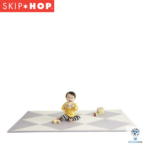 Skip Hop Playspot Geo Floor Tiles - Grey/Cream