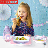 Skip Hop Zoo Utensil Set | Fork & Spoon | Narwhal