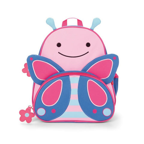 Skip Hop Zoo Backpack | Kinder Toddler Pre-School Bag - Butterfly