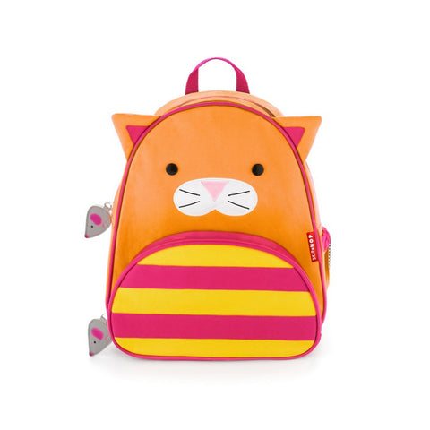 Skip Hop Zoo Backpack | Kinder Toddler Pre-School Bag - Cat