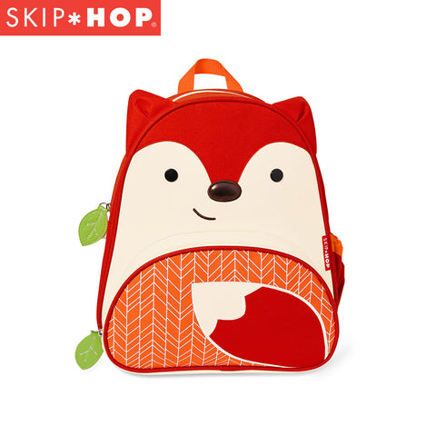 Skip Hop Zoo Backpack | Pre-School Bag - Fox