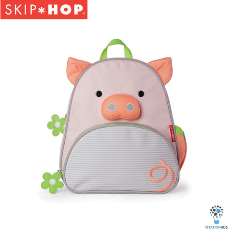 Limited Edition! Skip Hop Zoo Backpack | Pre-School Bag - Pig