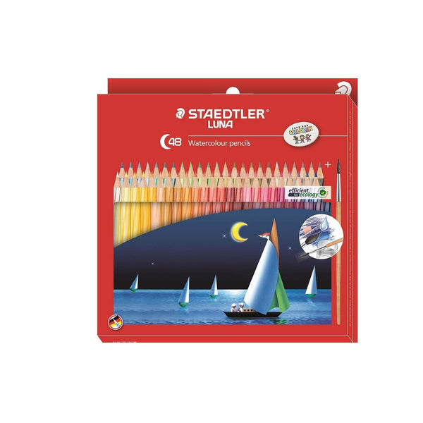 Staedtler Luna Watercolour Pencil | 48 Color Pencils