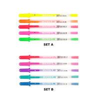 Sakura Gelly Roll | Moonlight Colour Set | Pack of 5 Pens