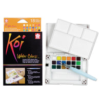 Sakura Koi Watercolour Pocket Field Sketch Box | 18 Colours