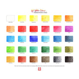 Sakura Koi Watercolour Pocket Field Sketch Box | 30 Colours