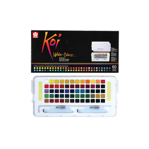 Sakura Koi Studio Watercolor Set | 60 Colours