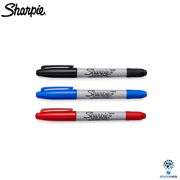 Sharpie Twin Tip Set | Permanent Marker Pen