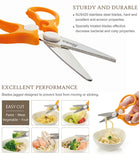 Simba Baby Food Scissors | Stainless Steel - Green