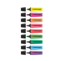 Stabilo Boss Original Fluorescent Colour Highlighter | 9 Pens
