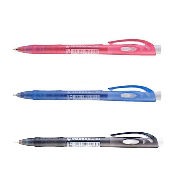 Stabilo Liner 348 Fine Semi Gel Ball Pen