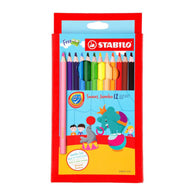 Stabilo Swans Jumbo | 12 Coloured Pencils