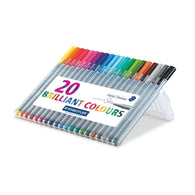 STAEDTLER Triplus Fineliner 334 | 20 Colours