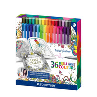 STAEDTLER Triplus Fineliner 334 | 36 Colours