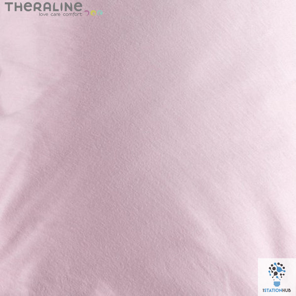 Theraline Comfort Maternity Cushion Cover - Light Rose Jersey
