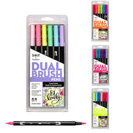 Tombow ABT Dual Brush Pen | Pack of 6 Pens