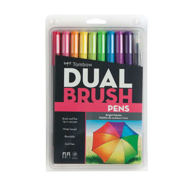 Tombow Dual Brush Pens | Bright Palette