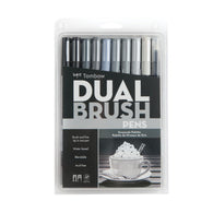 Tombow Dual Brush Pens | Grayscale Palette