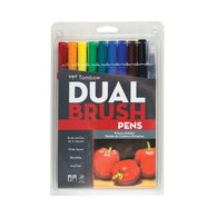 Tombow Dual Brush Pens | Primary Palette - 10s