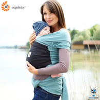 Ergobaby Wrap Carrier | Eucalyptus - Teal Wrap with Black Pocket