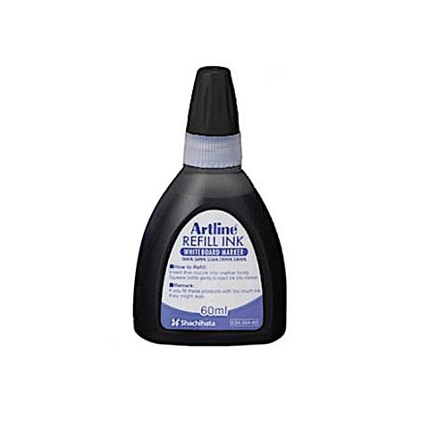 Artline Whiteboard Refill Ink | 60ml - Black
