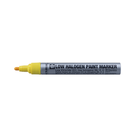 Sakura Low Halogen Paint Marker | 2.0mm - Yellow