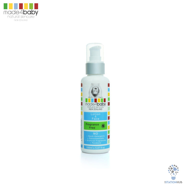 Made4baby Lotion 4 Face (Fragrance Free) 150ml